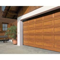 Дървени секционни гаражни врати - Novoferm