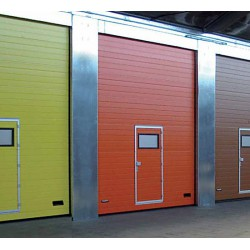 Индустриални секционни врати Thermo и NovoLux – Novoferm – повече цветове