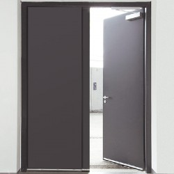 Двукрили димозащитни стоманени врати - Novoferm