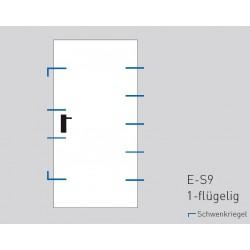 Противозломна врата NovoSecur ® - E-S9 - Novoferm - Novoferm