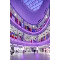 Акустичен окачен растерен таван Ecophon - Focus™ Ds