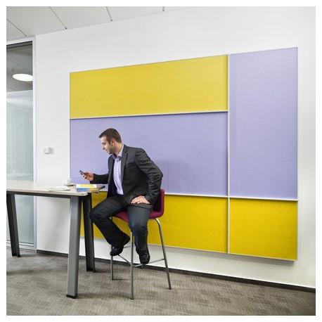 Акустични стенни панели Ecophon - Akusto/Wall panel ™ Wall C/ White frost
