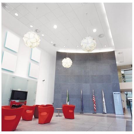 Акустични преградни стенни панели Ecophon - Solo™ Square on wall