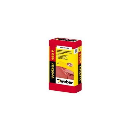 Лепилнo-шпакловъчна смес WEBER 460P