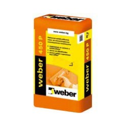 Лепилнo-шпакловъчна смес WEBER 450P - Weber