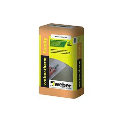 Лепилнo-шпакловъчна смес WEBER Family - Weber