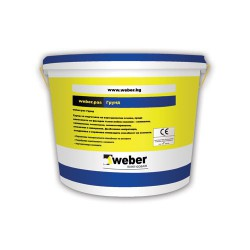 Грунд за тънкослойни мазилки - WEBER.PAS
