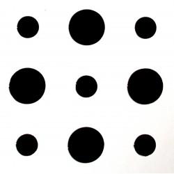 Гипсокартон Кнауф Cleaneo Akustic - разместена кръгла перфорация (R)