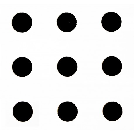 Гипсокартон Кнауф Cleaneo Akustik - права кръгла перфорация (R)