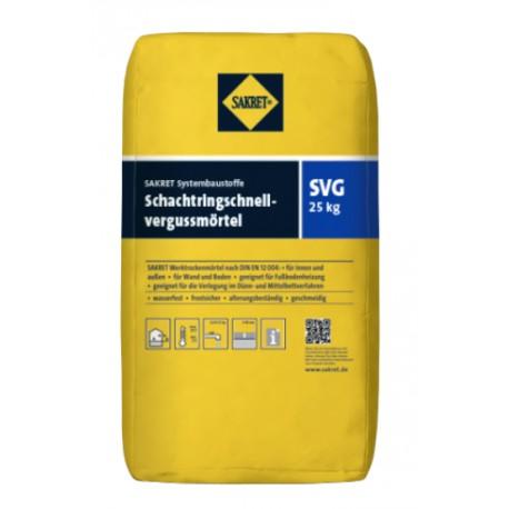 Бързосвързващ разтвор за шахти - SAKRET SVG