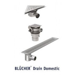 Drain Domestic- точкови и линейни санитарни сифони за дома - Hydro