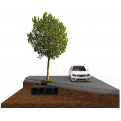 Системи за опазване коренова система на дървото TreeBox/ AirBox - Hydro