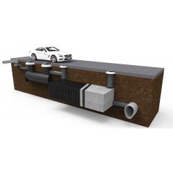 Инфилтрационна система дренажни блокчета X-Box Control-Box - Hydro