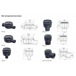 Дизайнерско точково отводняване ACO Showerpoint - ACO