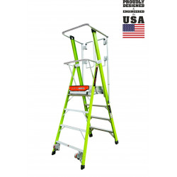 Стълба Safety Cage – FIBERGLASS - Little Giant Ladder System